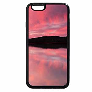 iPhone 6S / iPhone 6 Case (Black) Pink Reflection