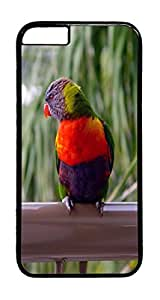 Rainbow Lorikeet Animal PC Case Cover for iphone 6 Plus 5.5inch - Black