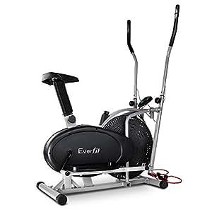 Elliptical Cross Trainer Exercise Bike bonus Resistance Band - Everfit