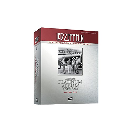 Guitar guitar tabs book : Amazon.com: Alfred Led Zeppelin Box Set I-V Guitar Tab Platinum ...