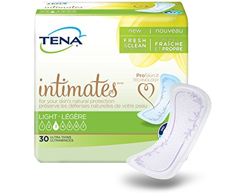 TENA Intimates Light Ultra Thin Pads Regular Case/180 (6/30s) by Generic