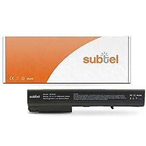subtel® Batería premium (4400mAh) para HP Compaq 6720t / 8510p / 8710w / nc8230 / nc8430 / nw8240 / nw8440 / nw9440 HSTNN-DB11 (10.8V)* bateria de repuesto, pila reemplazo, sustitución