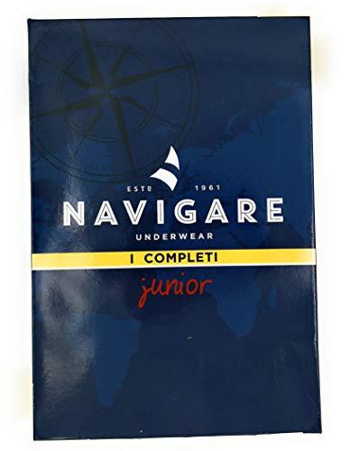 12138 Art Navigare Completino Melange Grigio Junior wRRStExP