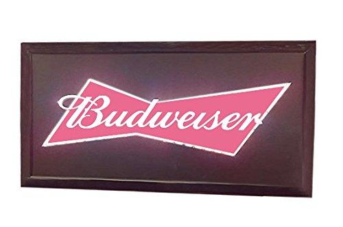 Budweiser Flashing LED Hanging Man Cave Wall Sign