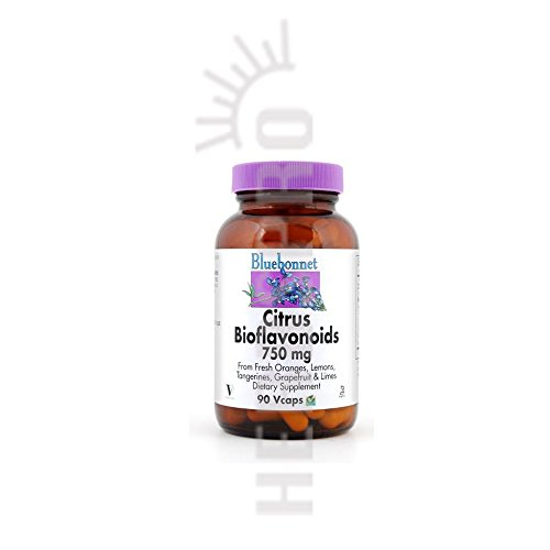 Citrus Bioflavonoid Complex, 750 Mg, 90VCAPS by Bluebonnet Nutrition (Pack of 3) by Bluebonnet Nutrition