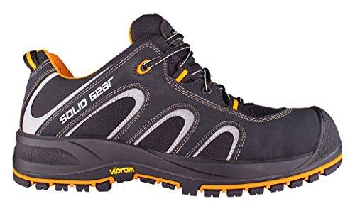 Solid Gear sg7300146Griffin–Zapatos de seguridad S3talla 46NEGRO/NARANJA