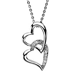 IceCarats 925 Sterling Silver Sister By Heart Necklace Pendant Charm 25.23X12.97 mm