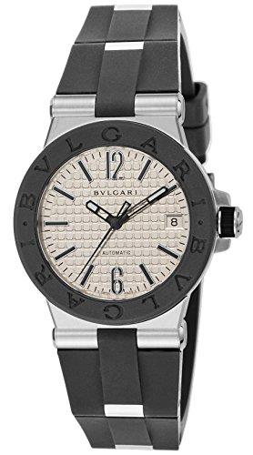 BVLGARI watch Diagono Silver Dial (Bvlgari Silver Watch)