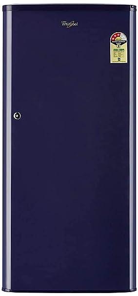 Renewed  Whirlpool 190 L 3 Star Direct Cool Single Door Refrigerator  WDE 205 CLS 3S BLUE cr, Blue  Refrigerators