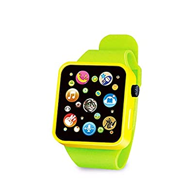 FEDBNET Educational Toy Gift,6 Color Toddler Children's Plastic Digital Watch Simulation Smart Watch: Home Audio & Theater