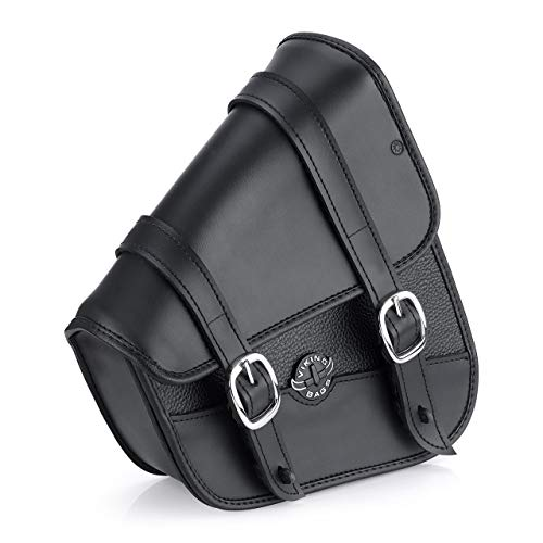 - Viking Bags Harley Sportster Specific Motorcycle Swing Arm Bag (Black)
