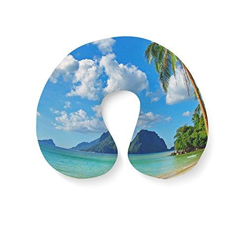 Paradise Nuque Gonflable Island Travel Pillow Bleu HrFHqw