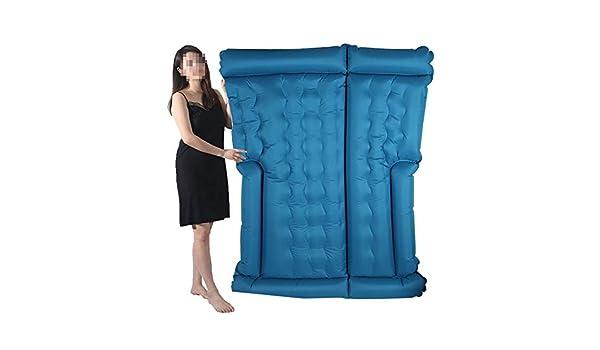 DHWOP - Colchón Hinchable Impermeable para Uso Pesado, colchón ...