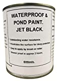 1 x 500ml Black Roof Gutter & Pond Water Proof Paint