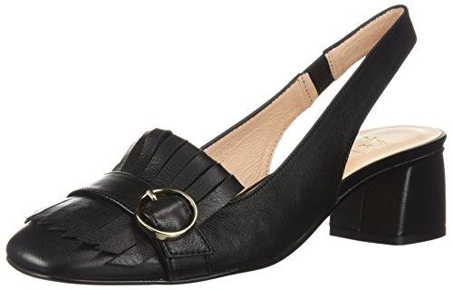 Sole Pump - French Sole FS/NY Women's Boast Shoe, Black, 10 Medium US