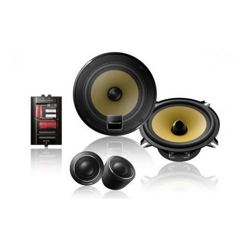 Pioneer TS-D1330C 5.25 D-Series 180-Watt Component Speaker Package (5.25 Inch Component Speaker Package)