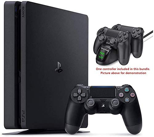 2020 Playstation 4 PS4 1TB Slim Gaming Console w/Ghost Manta Fast Charging Station Dock