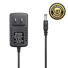 Molshine® (6.6ft Cable) 9V AC DC PSA120S Adapter Power Supply Rapid Charger for Boss ME-25 ME-50 ME-70 ME-80 DS-1 DD-20 GT-10 HM-2 RC-3 RC-30 RV-5 RV-6 TU-3 VE-20