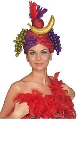 Rubie's Costume Co Carmen Miranda Hat (Carmen Miranda Fancy Dress Costume)