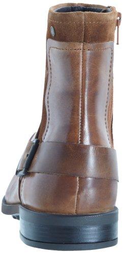 Base London Magnet - Botas de cuero hombre marrón - Marron (Tan Waxy/Suede)