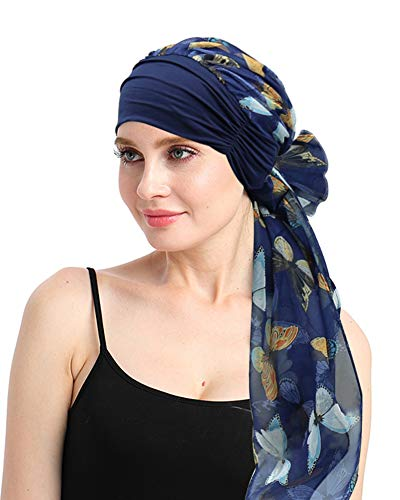 Headcover Scarf For Cancer Patients Chemo Turbans Headwear Chemotherapy Beanie Cap