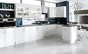 Ck Kitchens Ultra High Gloss White Kitchenstori Complete