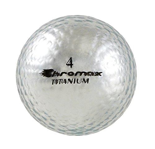 Chromax High Visibility M1x Golf Balls 6-Pack, Silver