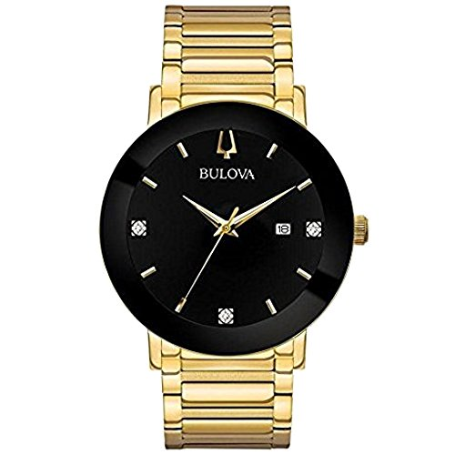 Collection Bracelet Watch (Bulova Men's Modern Collection Black IP and Gold-tone Stainless Bracelet Watch)