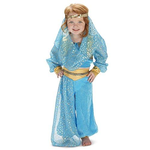 Mystic Genie Toddler Dress Up Costume 4T (Dream Genie Child Costume)