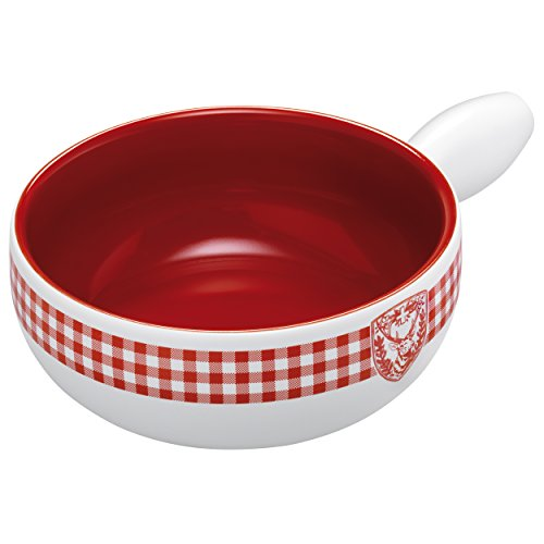 Kuhn Rikon Induction Caro Deer Fondue Pot, 9.06'', White by Kuhn Rikon