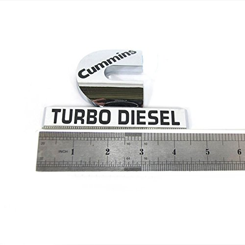 cummins turbo diesel badge - 1