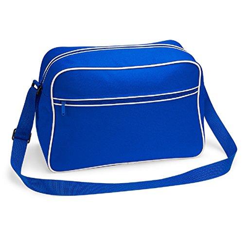 Bagbase Bleu Sac 11 Blanc En Royal Couleurs Reporter Rétro FwYArqUF