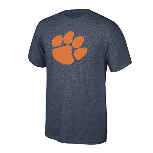 - Elite Fan Shop NCAA Men's Clemson Tigers T Shirt Charcoal Icon Clemson Tigers Charcoal Large