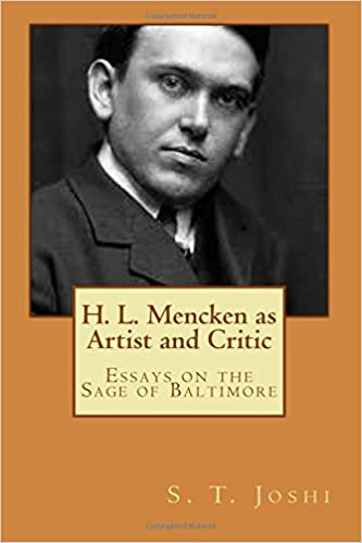 Amazon com h l mencken as artist and critic essays on the sage