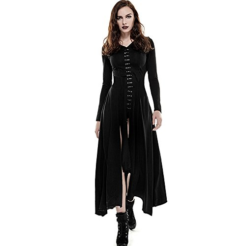long black pirate dress - 4