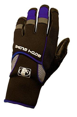 Body Glove 90325 Full-Finger Mechanics Style Gloves, Blac...