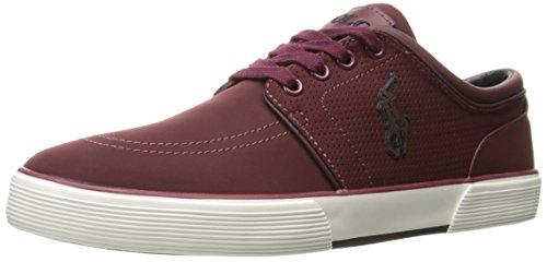 Polo Ralph Lauren Men's Faxon Low Sneaker, Port, 11.5 D - Polo Ralph Online