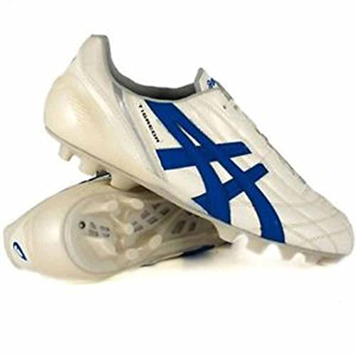 Asics Men's Tigreor It Footbal Shoes Multicolor (Cultura Gold Italia N Blue) free shipping best prices 2Z8eI4kXH