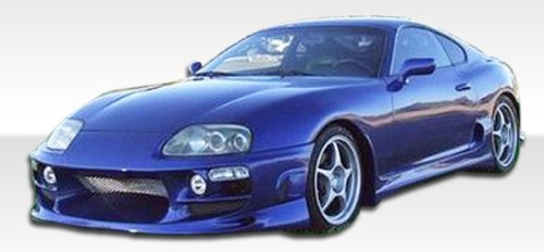 1993-1998 Toyota Supra Duraflex Bomber Kit- Includes Bomber Front Bumper (101327), Bomber Rear Bumper (101328), and Bomber Sideskirts (101329). - Duraflex Body - Toyota Supra Bomber