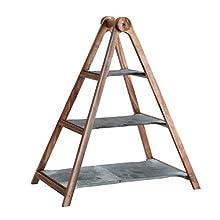 Villeroy & Boch 10-4130-7990 Centro para Aperitivos/Frutero, Wood/Slate, Marrón
