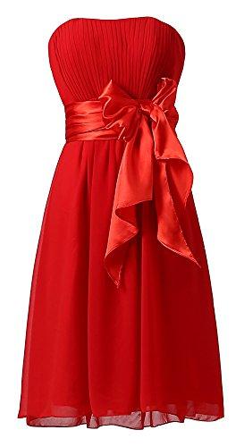 Ouman Sweetheart Bridesmaid Chiffon Dresses product image