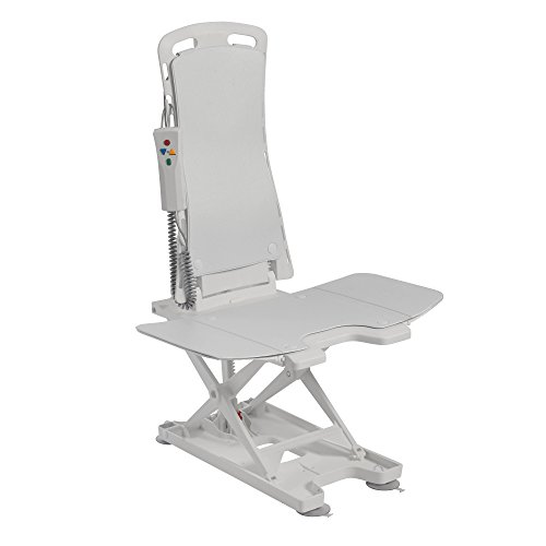 Drive Medical Bellavita Auto Bath Tub Chair Seat Lift, White ()