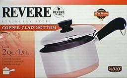 Revere 1400 Line 2-Quart Covered Saucepan