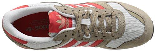 Adidas Originali Mens Zx 700 Lifestyle Runner Sneaker Cargo Kaki / Rosso / Bianco