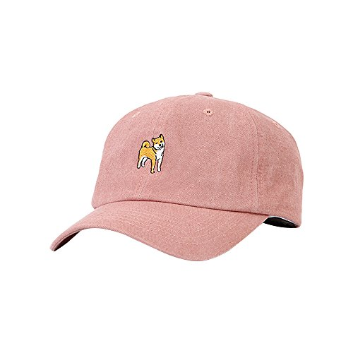 Flipper Chiba Inu Baseball Cap Trucker Hat Camping Outdoor Cap (Light Pink) f6a236f21c90