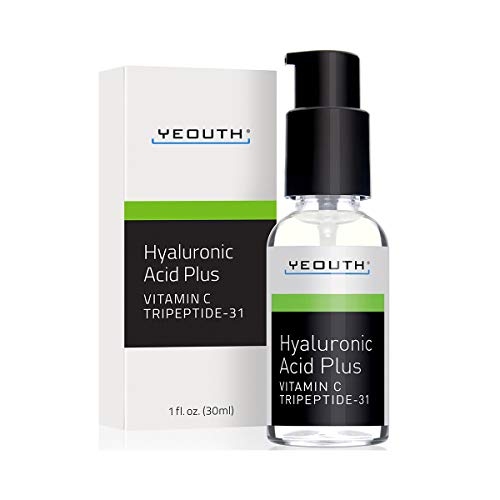 YEOUTH Best Anti Aging Vitamin C Serum with Hyaluronic Acid & Tripeptide 31 Trumps ALL -