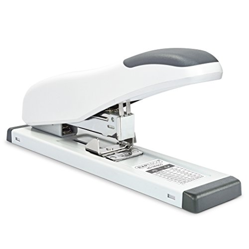 Rapesco Heavy Duty Desk Stapler, Eco Soft white (1386)