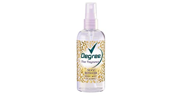Degree fine fragrance body mist sexy intrigue