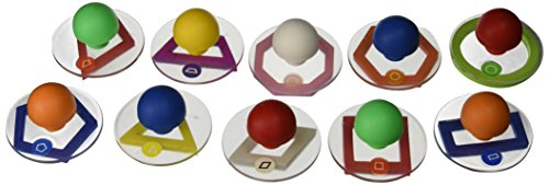 Center Enterprise CE6736 READY2LEARN Giant Geometric Shapes Outlines (Pack of 10)