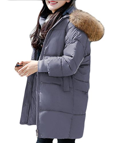 Military Patka Gery Faux Hooded Outdoor Outwear amp;S Fur amp;W M Women's Jacket 0nqxgwBtpC